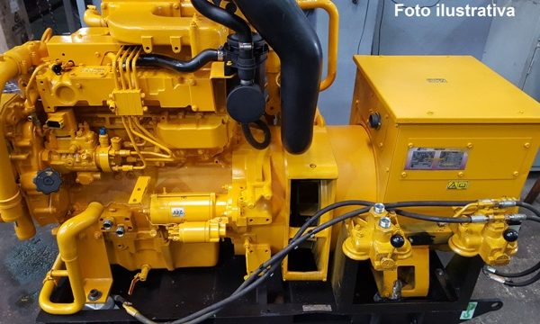 Motor Long Block Cat Modelo C4.4